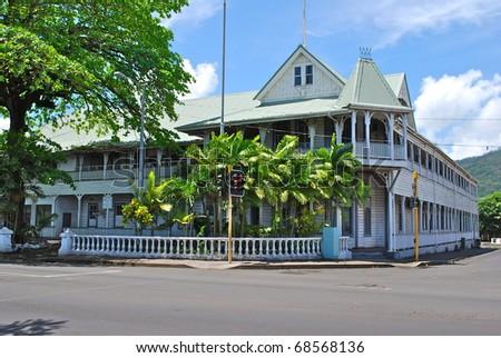 Apia, Samoa - stock photo