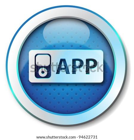 APP icon - stock photo