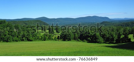 Appalachian Trail in Connecticut - stock photo