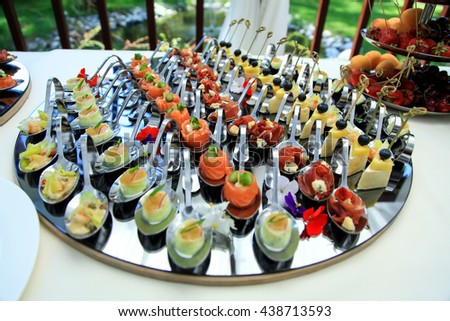 appetizer - stock photo
