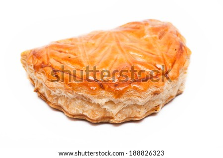 apple croissant - stock photo