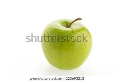Apple isolated on white background - stock photo