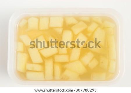 Apple jelly - stock photo