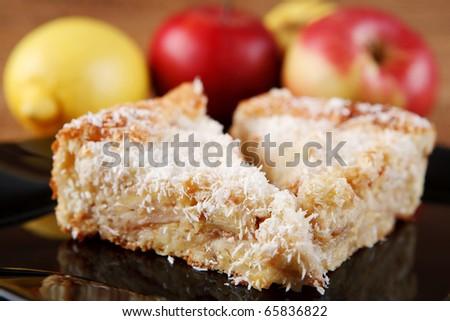 apple pie - stock photo
