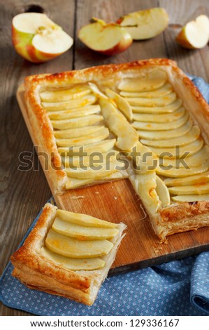 Apple Tart - stock photo