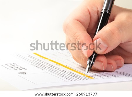 Application for for US Citizenship - stock photo