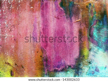 aqua color abstract stone texture background - stock photo