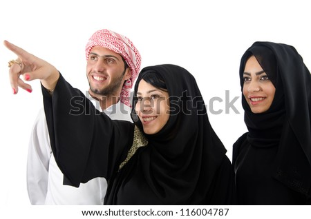 Arab People - stock photo