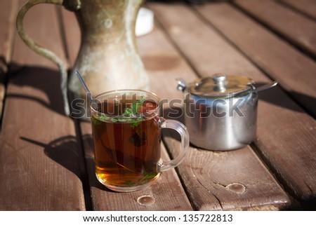 Arab Tea - stock photo