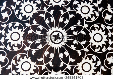 arab tiles - stock photo