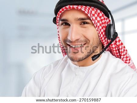 Arabian, arab, arabic. - stock photo