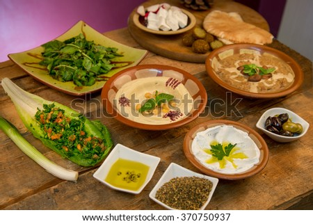 Arabian Breakfast - stock photo