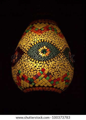 Arabic lantern style. - stock photo