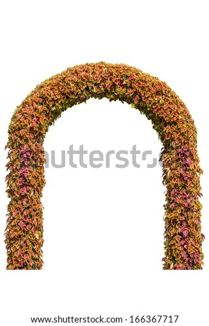arbour - stock photo
