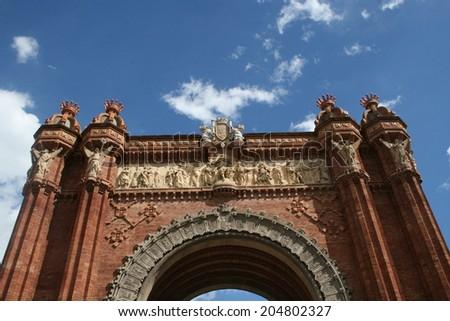 Arc de Triumph Barcelona - stock photo