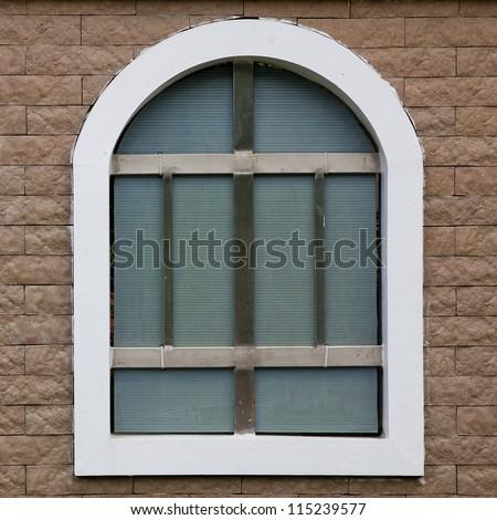 Stone arch window