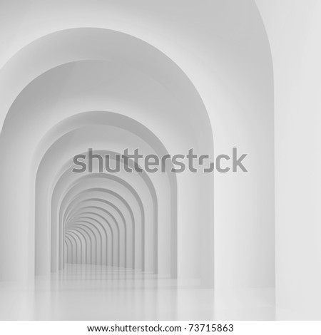 Arches Background - stock photo
