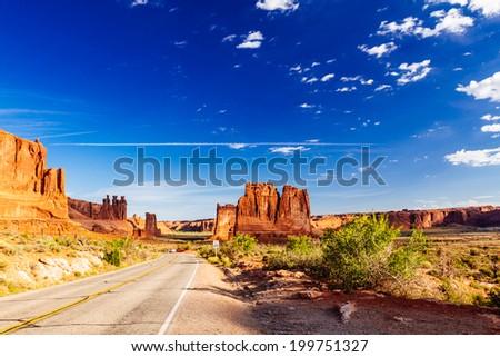 Arches National Park, Moab, Utah, USA - stock photo