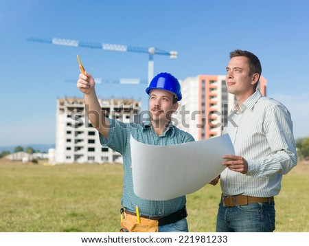 stock images similar to id 77743084 - architect and construction