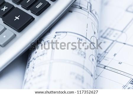 architect office concept - stock photo