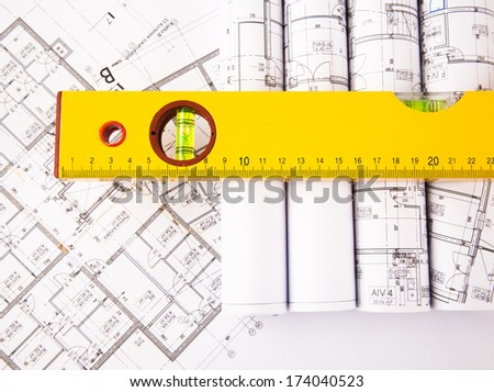architectural accessories - stock photo