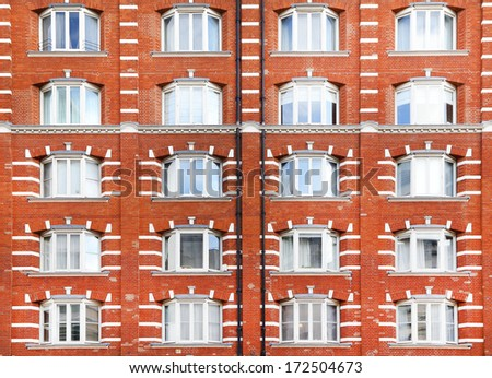 Architectural detail in London, England - stock photo