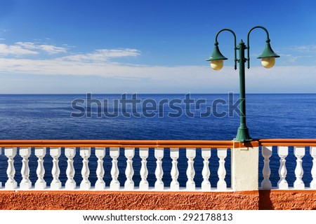 Architectural detail in Madeira, Portugal, Europe - stock photo