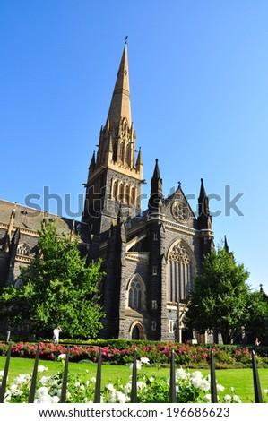 Architectural glory building in Australia - stock photo