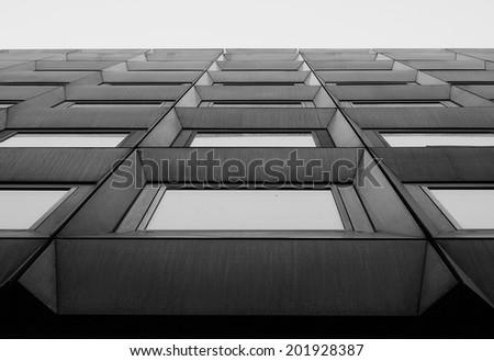 Architectural pattern  - stock photo