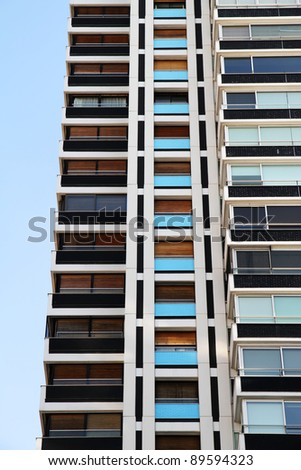 Architecture in Buenos Aires, Argentina, South america. - stock photo