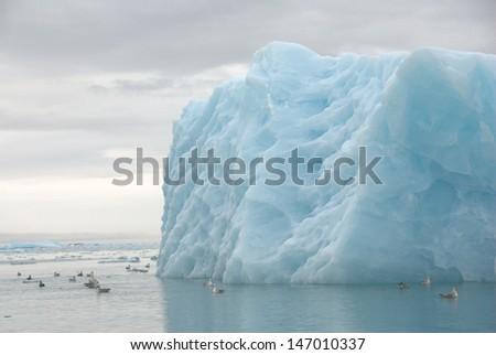 Arctic Iceberg - stock photo