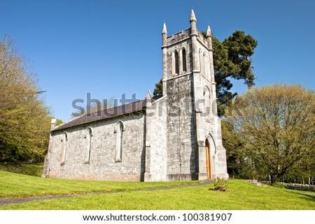 Ardcroney Church in Bunratty Castle & Folk Park - Ireland. - stock photo