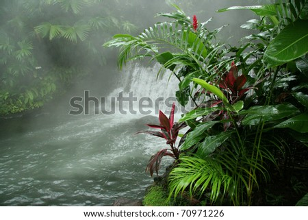 Arenal Hot Springs - Costa Rica - stock photo