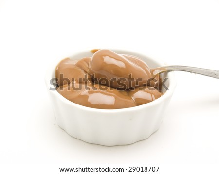 Argentine milk candy - stock photo