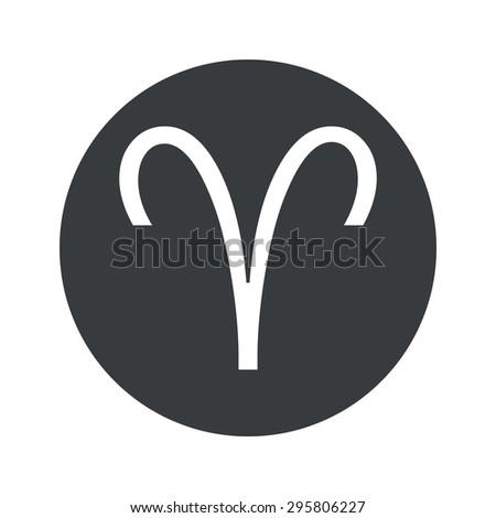 Aries zodiac sign - stock photo