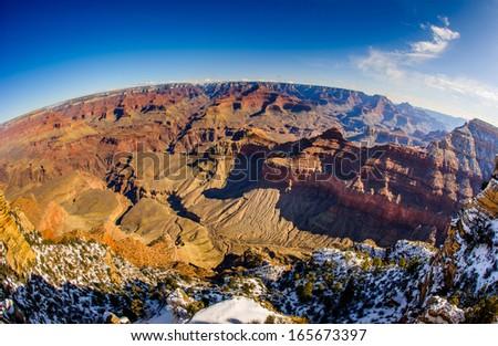 Arizona - Grand Canyon - stock photo