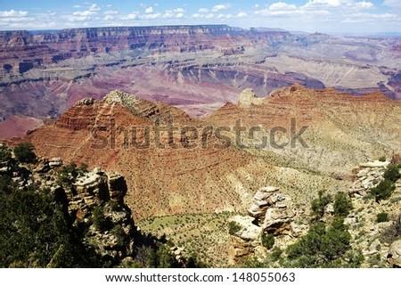 Arizona Grand Canyon Landscape. Arizona, USA. - stock photo