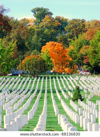 Arlington National Cemetery 8 - stock photo