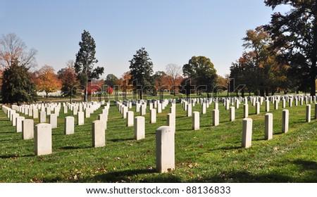 Arlington National Cemetery 5 - stock photo