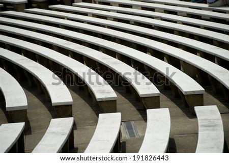 Arlington National Cemetery - Memorial Amphitheater  - stock photo