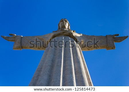 Arms wide open - stock photo