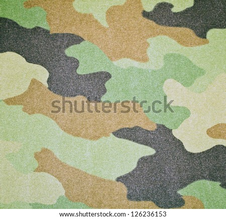 Army camouflage colors background or texture - stock photo