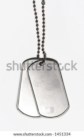 army dogtag - stock photo