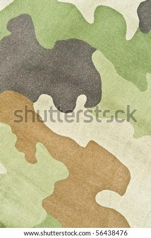 Army texture - stock photo