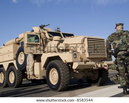 Army Vehicle - stock photo