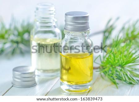 aroma oil - stock photo