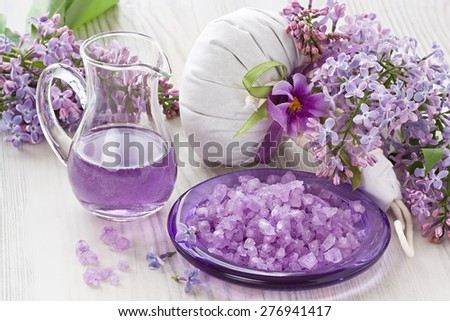 Aroma SPA set   - stock photo