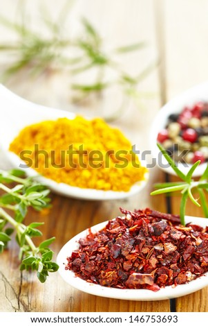 aromatic ingredients - stock photo