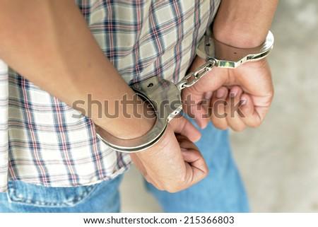 Arrests - stock photo