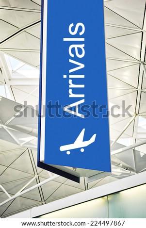 Arrivals - stock photo